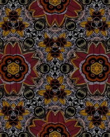 Red Bamako wallpaper, Price on Request