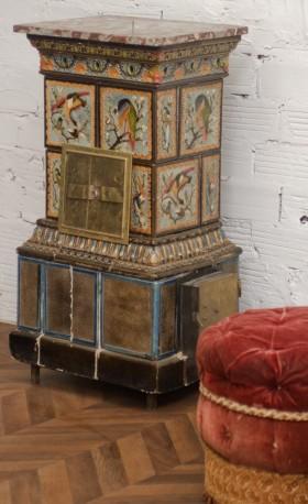 Antique wood stove