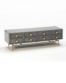 Ursula Gray Low Sideboard - 160 cm