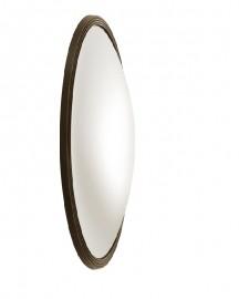 Witch Mirror Antique Bronze Frame ∅ 90 cm