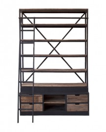 The Alistair Library H245cm-160cm
