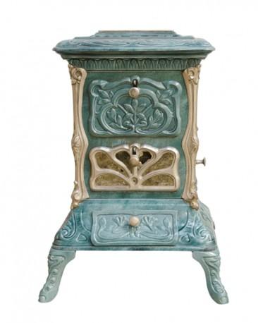 Art-Nouveau Wood Stove  - SOLD
