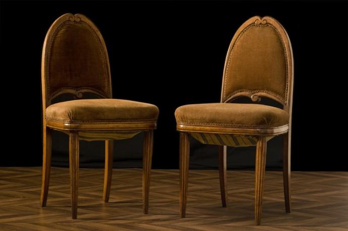 Paire de chaises 1925
