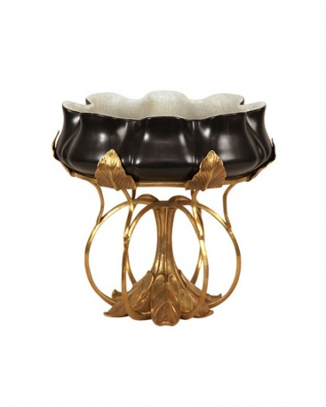 Oval bowl Angels - H 23 cm
