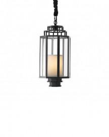 Black Metal Lantern Myrtle H55cm