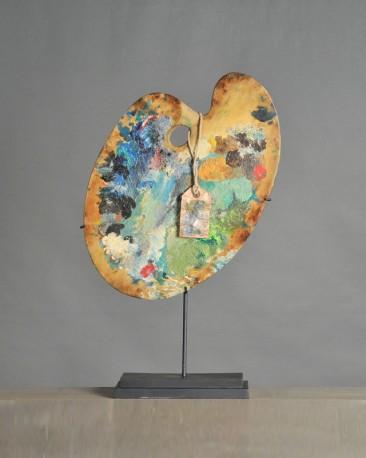 Painter Artist Palette Van Gogh Colors