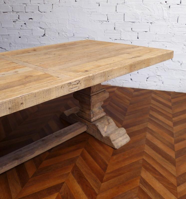 Grande et belle table de ferme Monastère en bois brut  ~ Belle Table En Bois