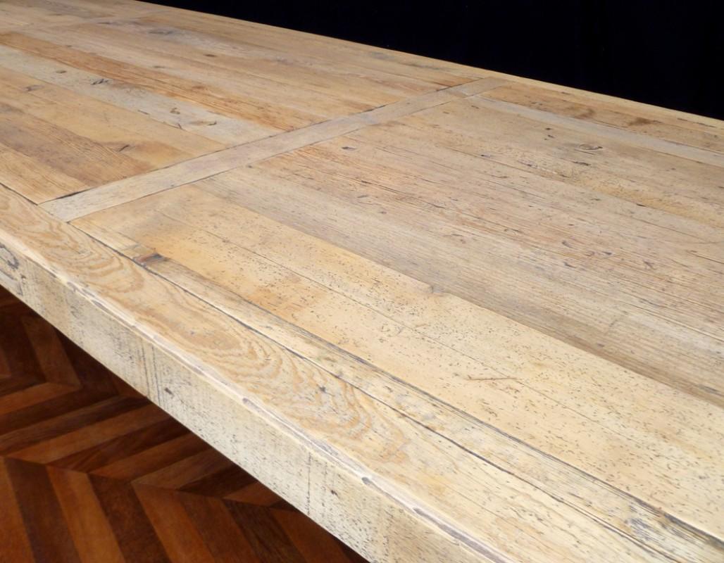 Grande Table De Ferme Table Monast Re Ancienne En Bois