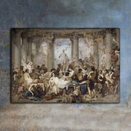 The Romans of the Decadence - Thomas Couture 1847