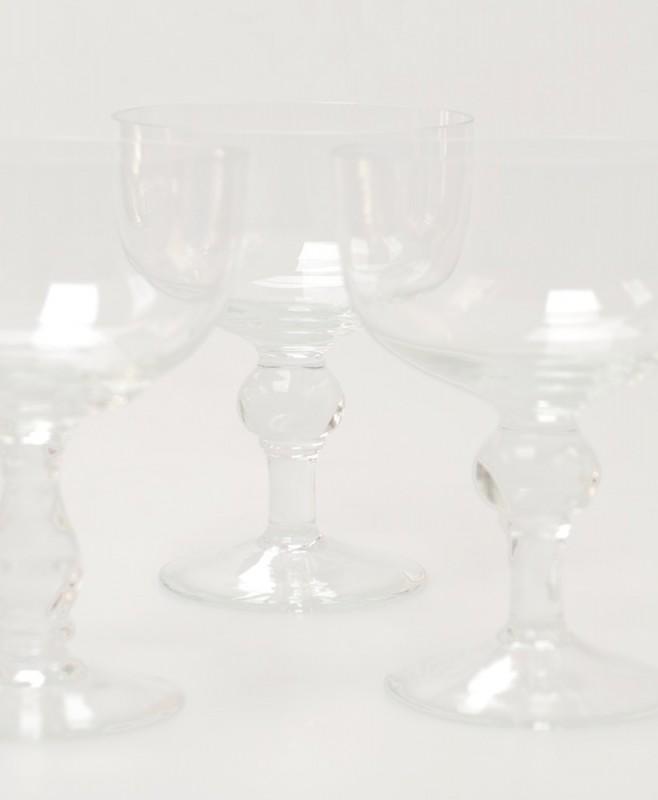 Verres en cristal verres anciens verrerie souffl main - Verres anciens en cristal ...