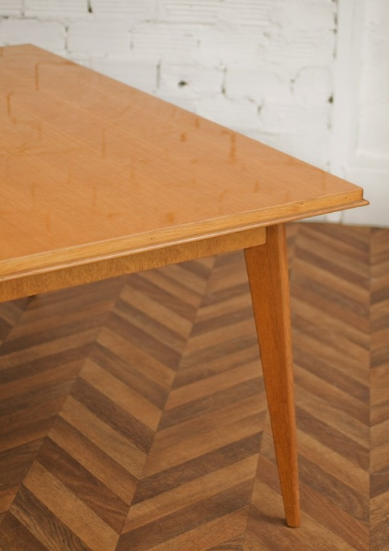 vintage dining room table 50 39 s furniture 1950 table