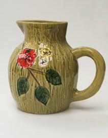 60's earthenware water jug
