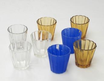 Petits verres cannelés (8)