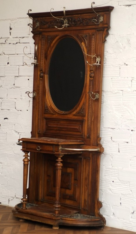 pat re porte manteaux anciens style henri ii meubles anciens antiquit. Black Bedroom Furniture Sets. Home Design Ideas