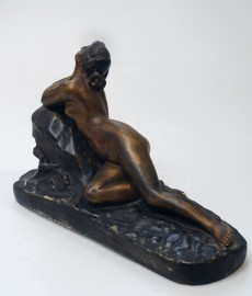 1900s plaster statue