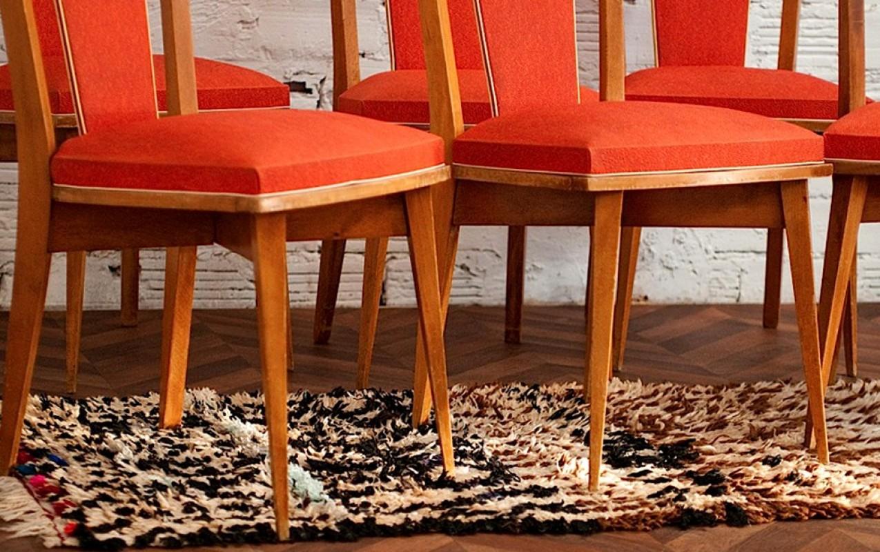 chaises ann es 50 chaises ancienne retro vintage. Black Bedroom Furniture Sets. Home Design Ideas