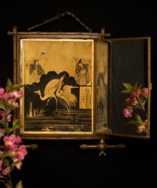 Miroir triptyque 1878