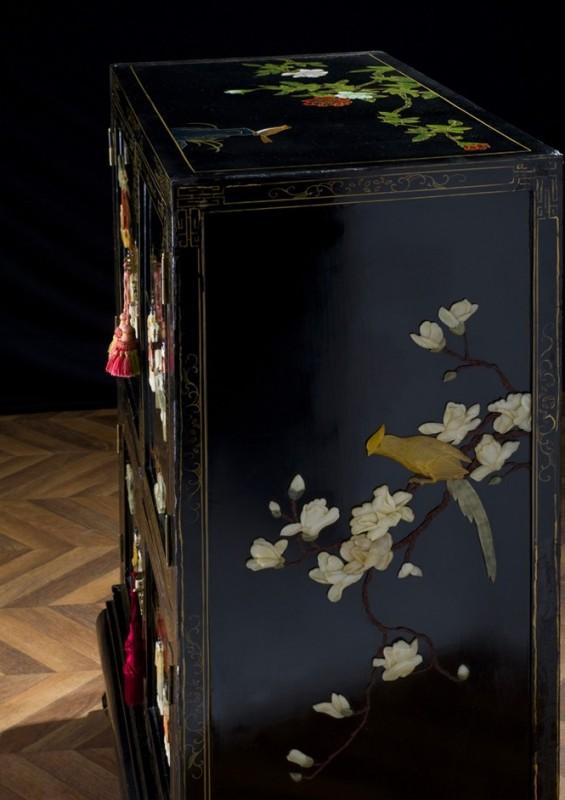 Armoire chinoise ancienne meuble chinois ancien for Meuble asiatique paris