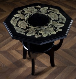 Octogonal pedestal table 1920's