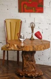 Table ancienne en orme massif