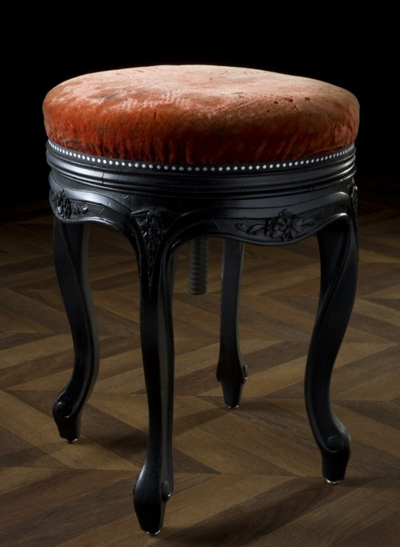 tabouret de piano napol on iii meuble ancien et vintage. Black Bedroom Furniture Sets. Home Design Ideas