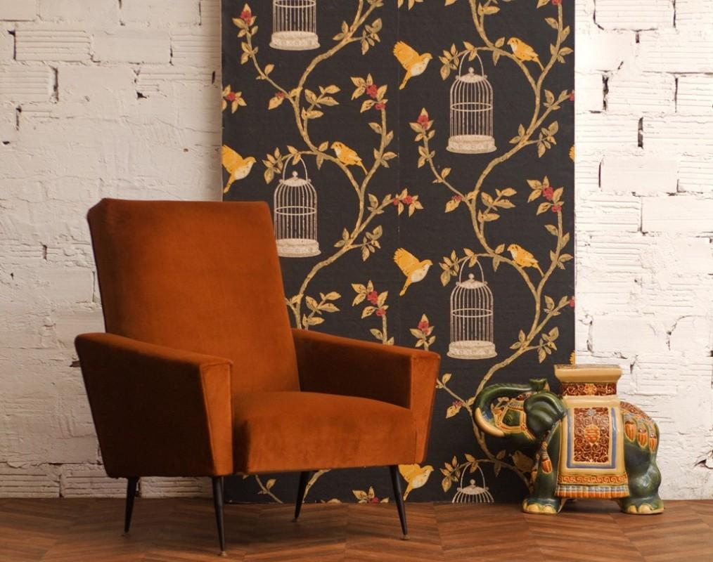 fauteuil meuble meubles ann es 50 vintage r tro unique. Black Bedroom Furniture Sets. Home Design Ideas