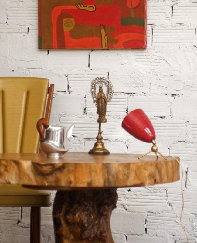 lampe de bureau vintage r tro 1970 70s m tal luminaire r tro. Black Bedroom Furniture Sets. Home Design Ideas
