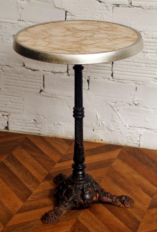 pedestal bistro 1950 s sold arteslonga