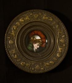 Coupelle en porcelaine, fin XIXeme siècle