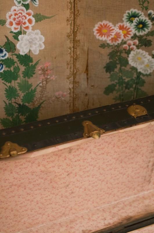 Old Travel Trunk Vintage Trunk 1900 1930 Vinateg Suitcase