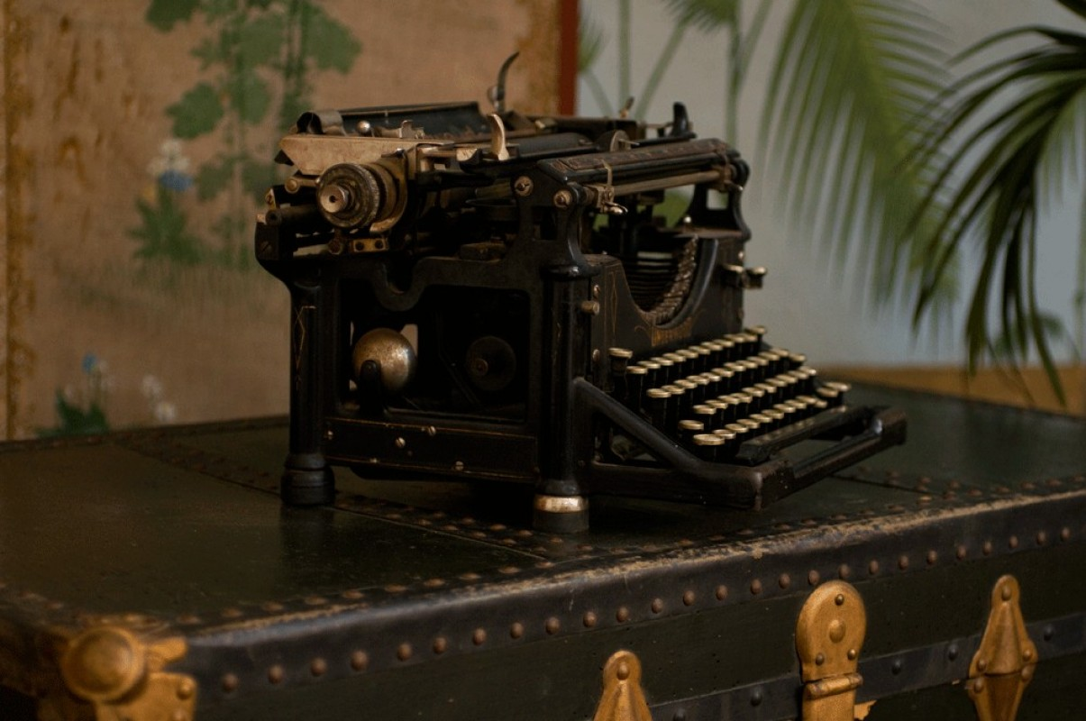 machine crire ancienne underwood 1918 n 1098729. Black Bedroom Furniture Sets. Home Design Ideas