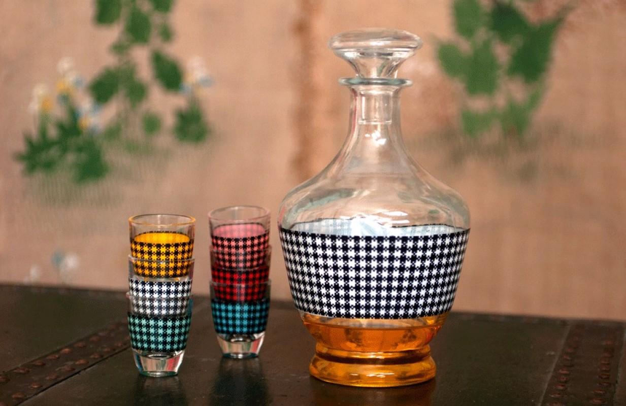 Service liqueur carafe liqueur vintage ann es 70 1970 - Abonnement art et decoration ...
