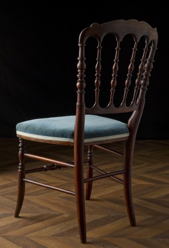 chaise napoleon iii. Black Bedroom Furniture Sets. Home Design Ideas