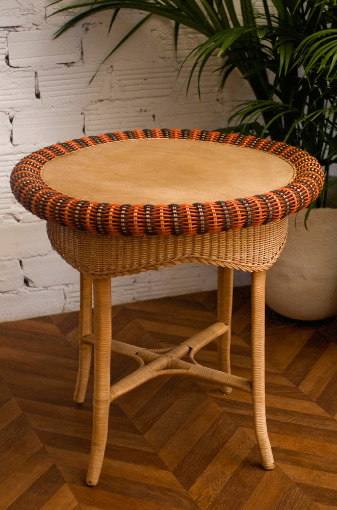 Table rotin good le meuble vintage le vintage dans la for Table marina alinea