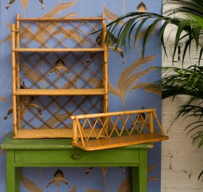 Bamboo Shelves 50s