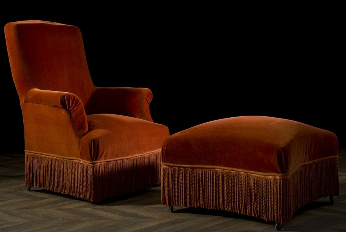 fauteuils berg re vintage ancien vente unique canap s chaises crapaud capitonn s meuble. Black Bedroom Furniture Sets. Home Design Ideas