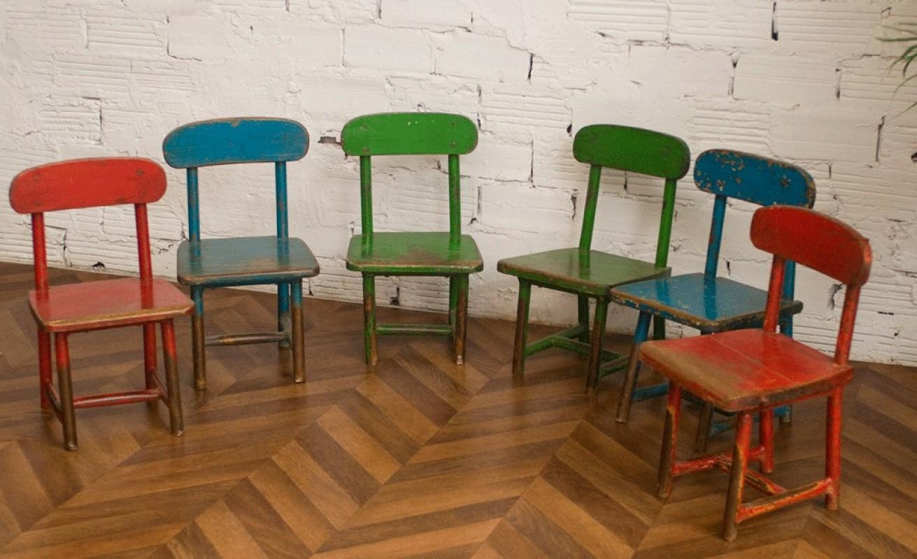 vintage children chairs cute children chairs vintage school chairs