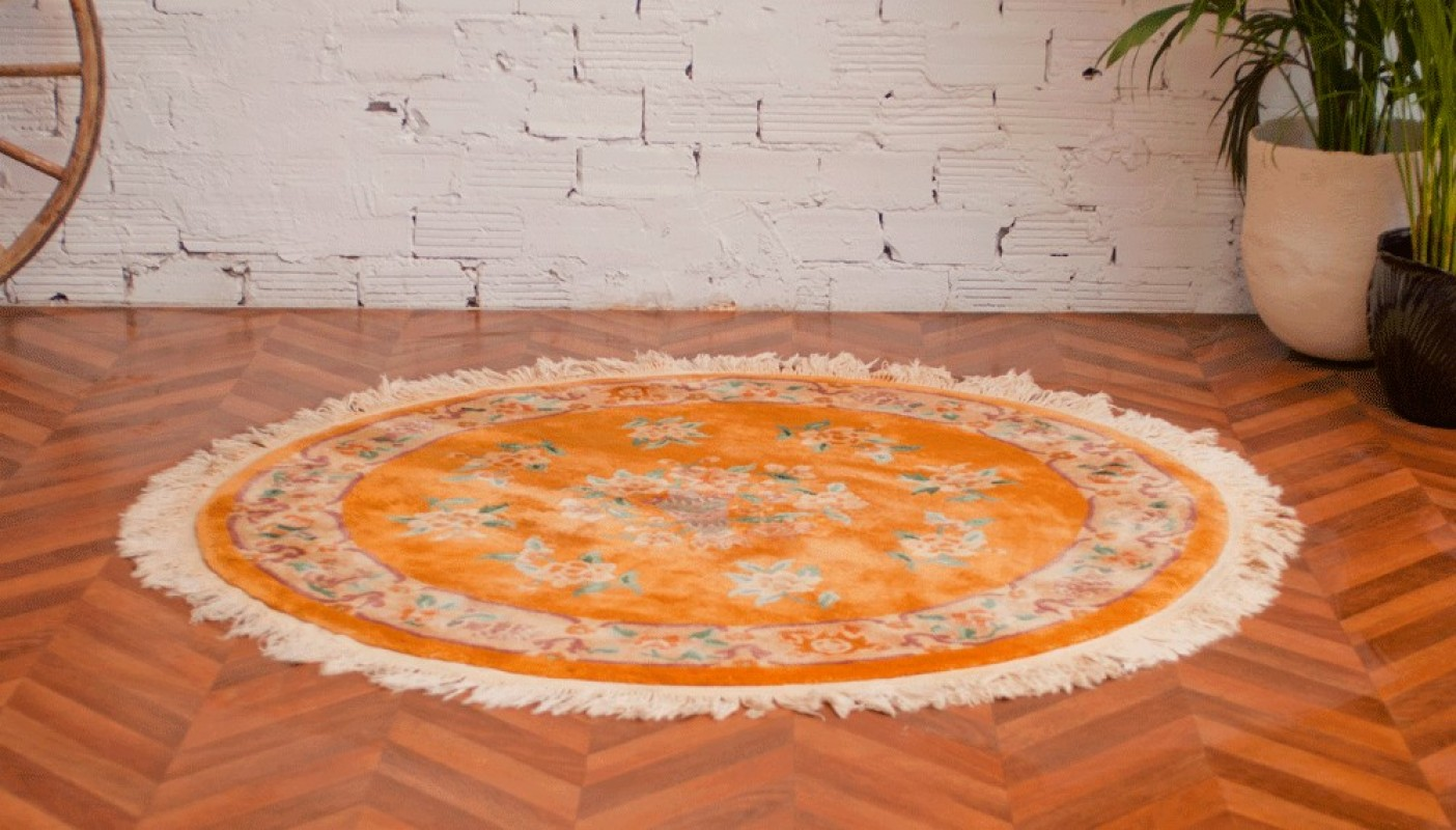tapis anciens tapis vintage tapis ancien rond en laine. Black Bedroom Furniture Sets. Home Design Ideas