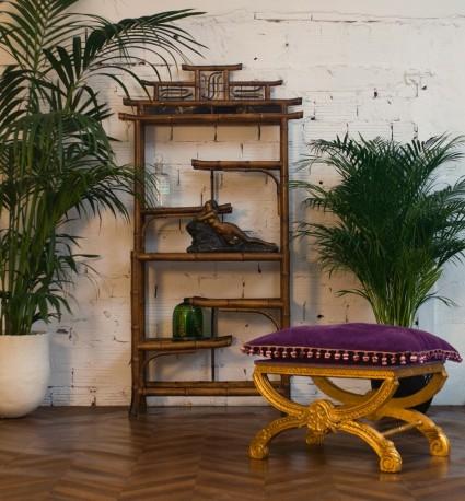 Shelf 1920's in bamboo, Paris