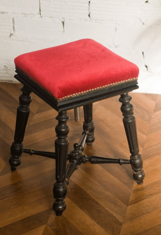 tabouret piano napol on iii si ge piano ancien banquette piano ancienne pi ce unique. Black Bedroom Furniture Sets. Home Design Ideas