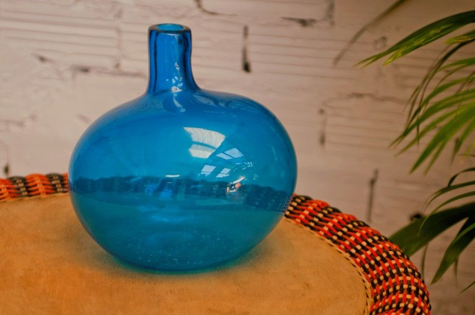 "Vase ""Bulle Bleue"""
