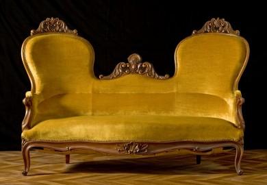 Napoleon III bronze Sofa - SOLD