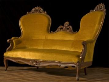 Napoleon III bronze Sofa