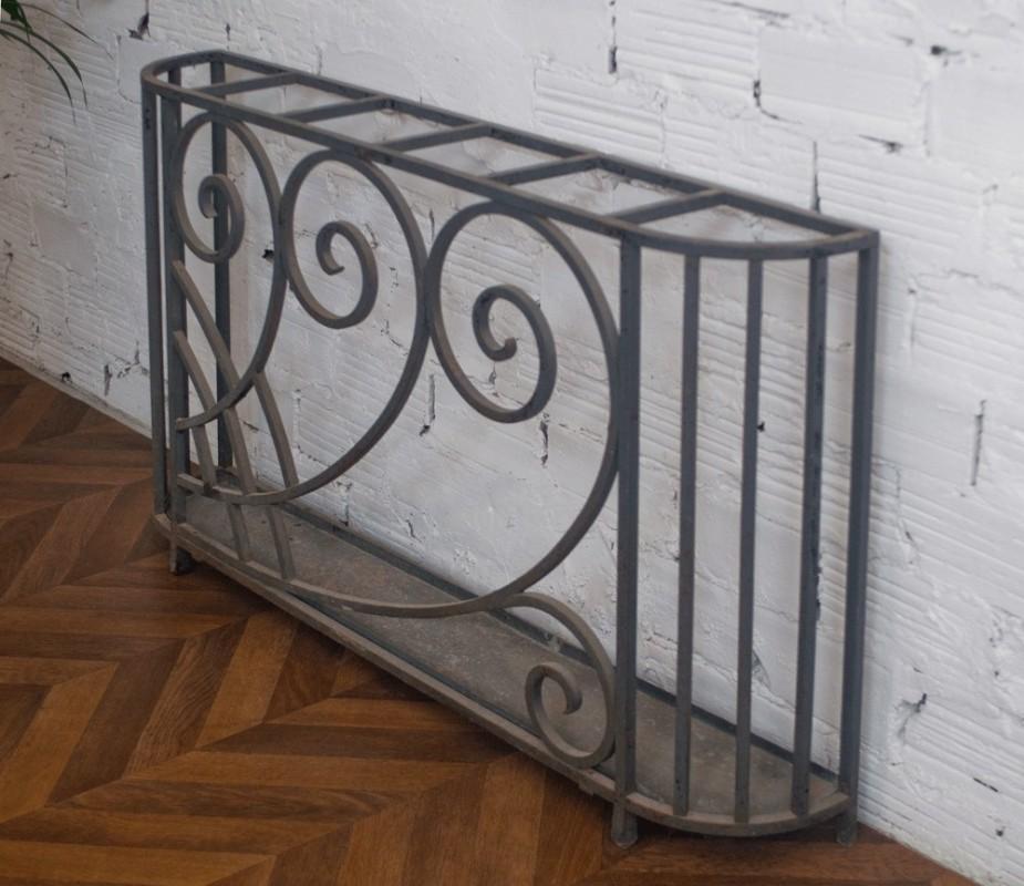 porte parapluie art d co ancien r tro fer forg. Black Bedroom Furniture Sets. Home Design Ideas