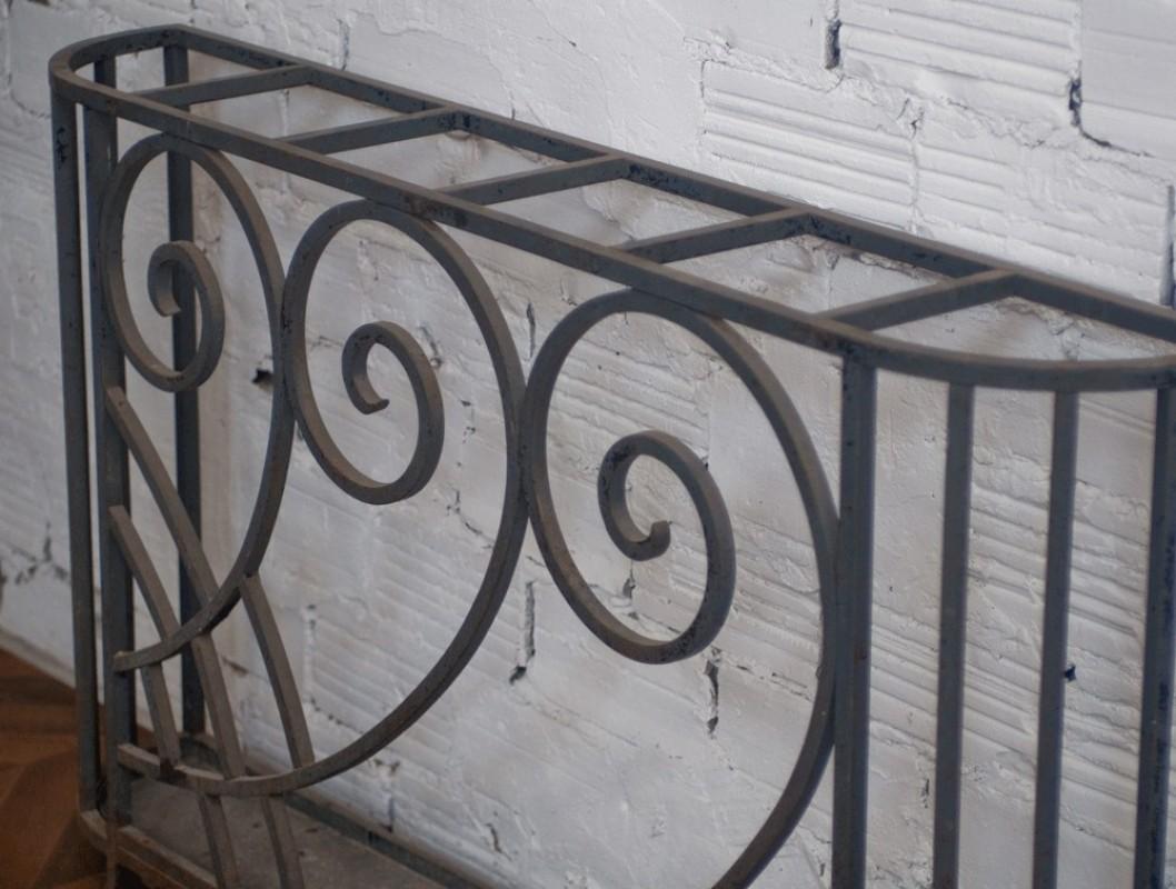 Porte parapluie art d co ancien r tro fer forg ann es 30 1930 artisanat d 39 art unique - Porte art deco ...