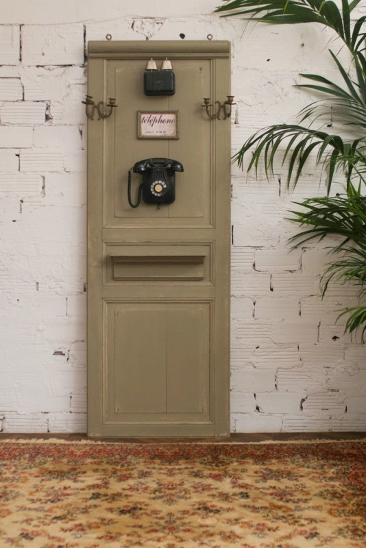 Decorative Door Movie Theater Old Vintage Retro Black