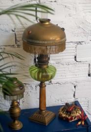 Lampe à pampilles, 1900 - VENDUE