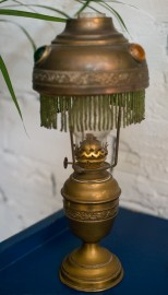 Small Art Nouveau Lamp - SOLD