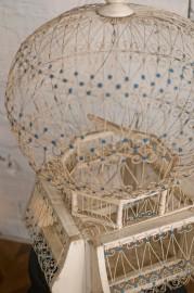 Cage à oiseaux rétro