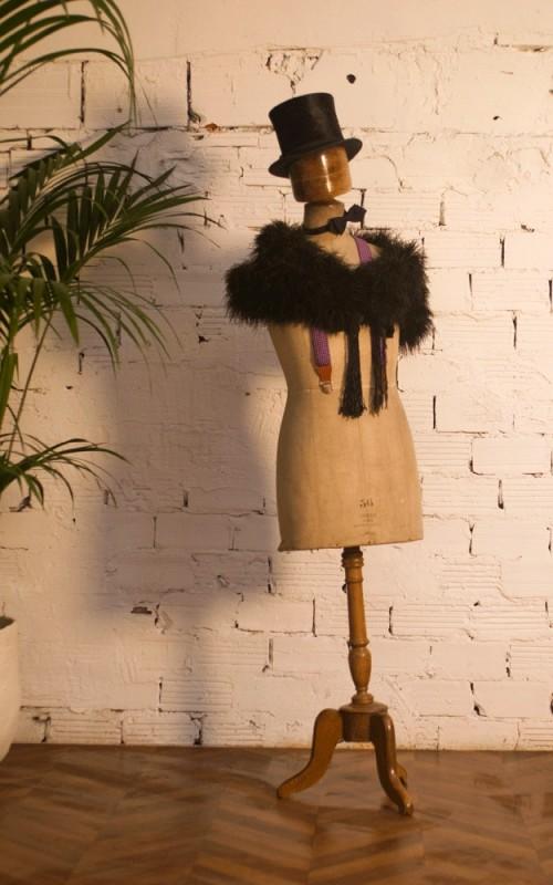mannequin couture homme ancien vintage r tro d but xxeme. Black Bedroom Furniture Sets. Home Design Ideas